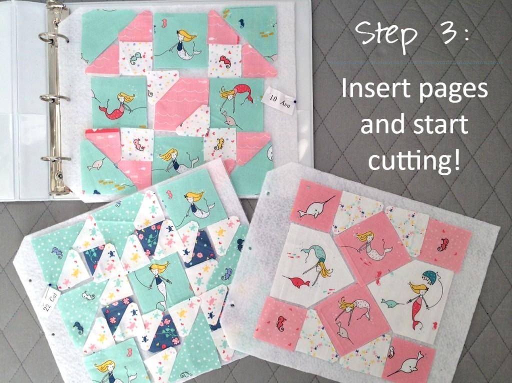 Faith and Fabric - How to Make a Portable Design Wall Quilt Block Binder 3