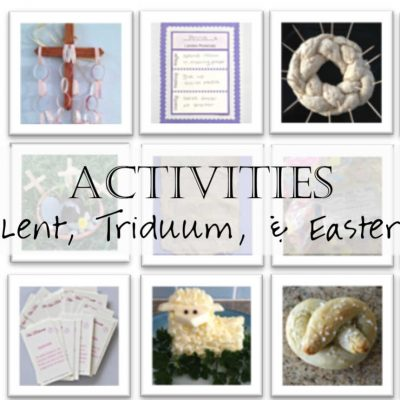 Family Activities for Lent and Easter