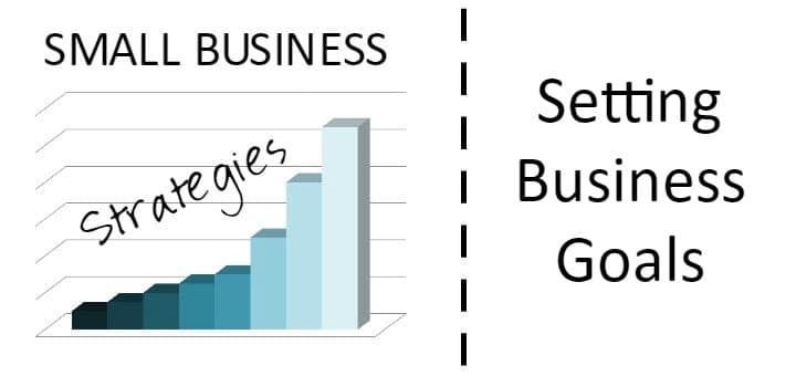 Faith and Fabric - Small Business Strategies: Setting Business Goals