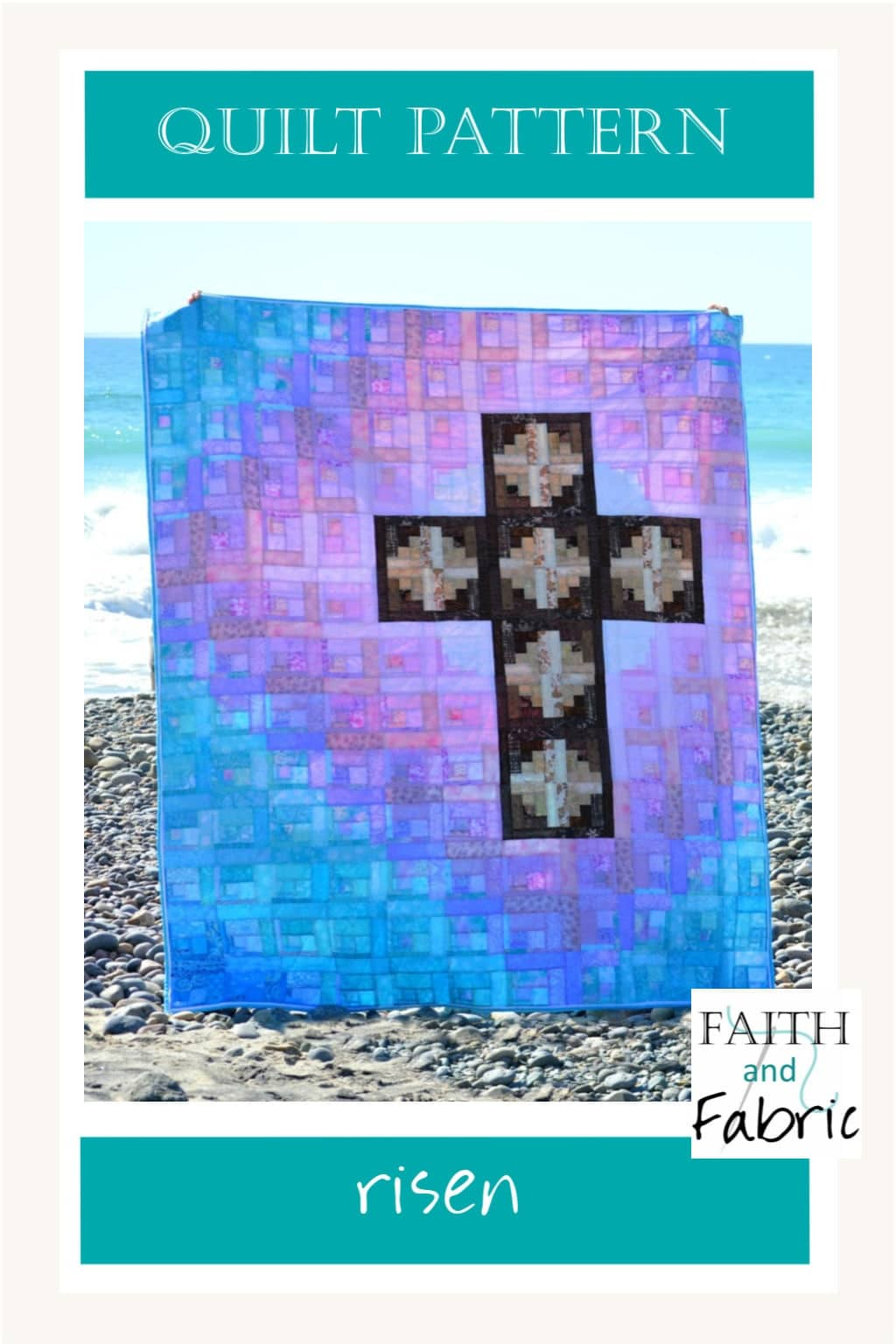 The joy of the resurrection shines in this gorgeous quilt pattern!