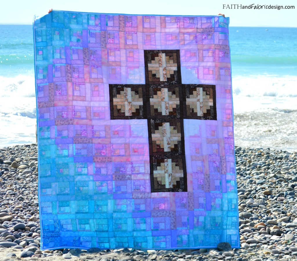 Faith and Fabric - Christian Easter Quilt Pattern -Risen 3