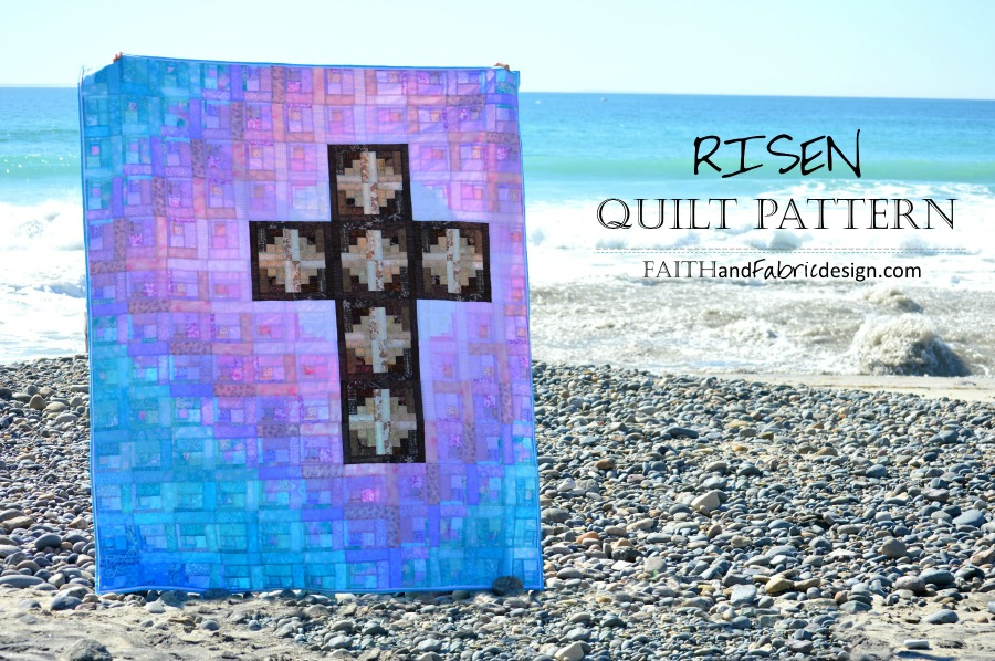 Pattern Risen Christian Quilt Easter Quilt Pattern Faith And