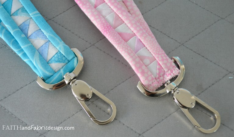 quilted lanyards