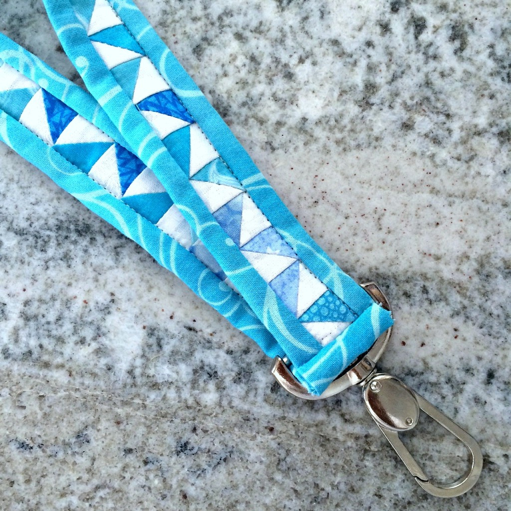 Faith and Fabric - Quilted Lanyard
