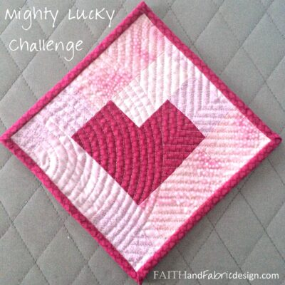 Mighty Lucky Quilting Challenge: Modern Minimalism