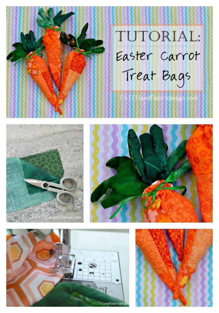 Faith and Fabric - Easy Easter Sewing Projects Carrots 12