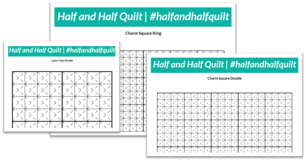 Carrie Merrell Half and Half Quilt 2
