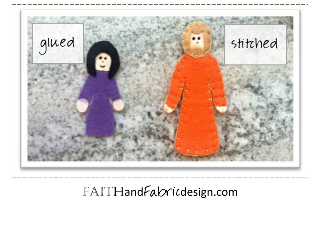 Felt Bible Activity Book 6