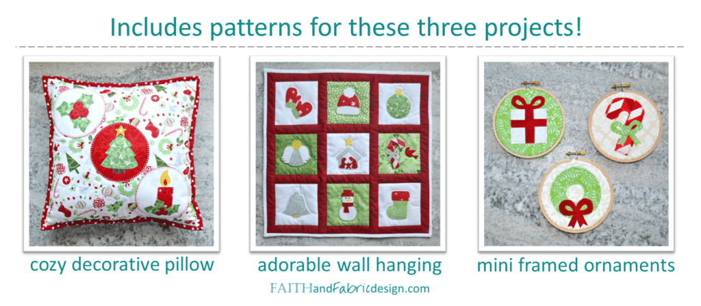 Christmas Applique Quilt Patterns 3