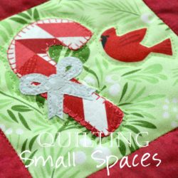 Christmas Applique Wall Hanging 2