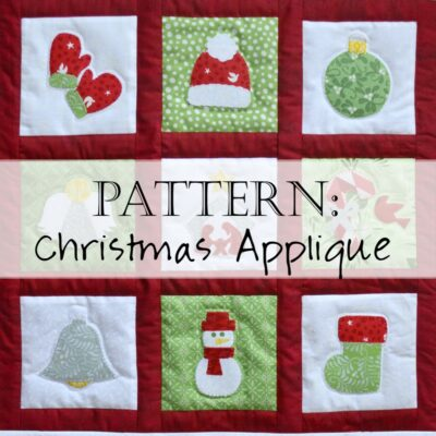Pattern: Christmas Applique Quilt Patterns