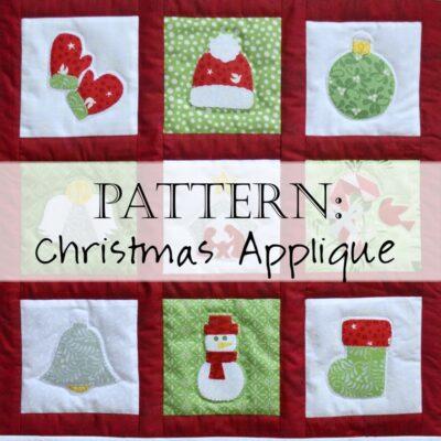 Pattern: Christmas Applique Quilt Patterns