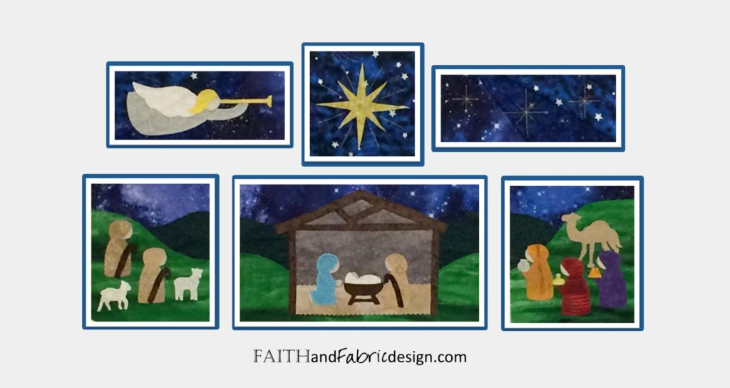 Christmas Nativity Quilt Pattern 11