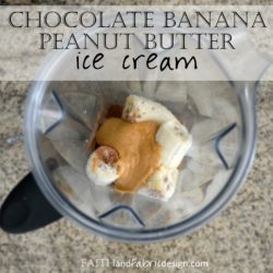 Chocolate Peanut Butter Banana Ice Cream Recipe Healthy 2