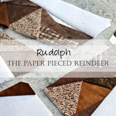 Christmas in July Bundle Sale: Pattern Sneak Peek! Geometric Reindeer