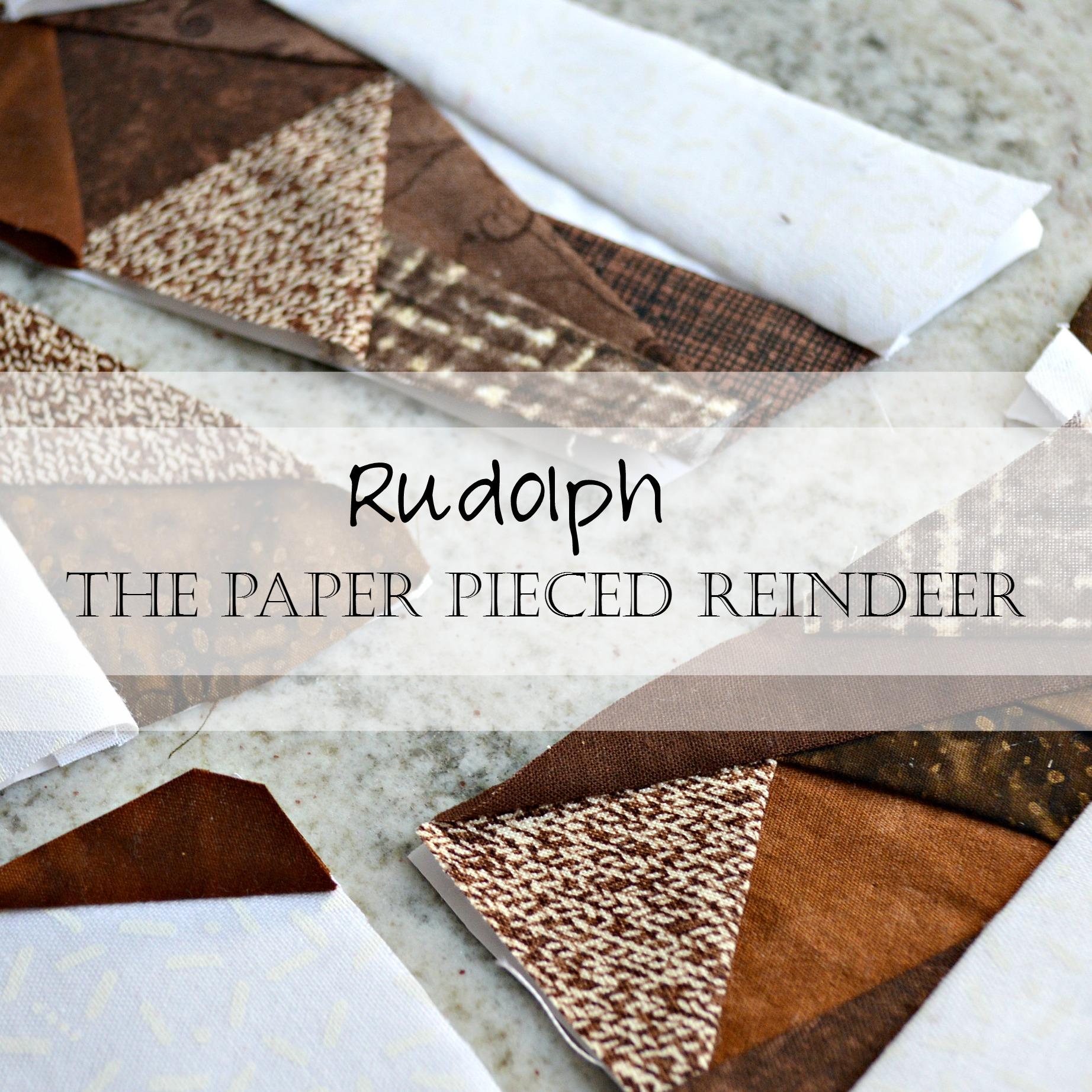 Christmas in July Bundle Sale: Pattern Sneak Peek! Geometric Reindeer