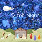Silent Night Christmas Nativity Quilt Pattern Square