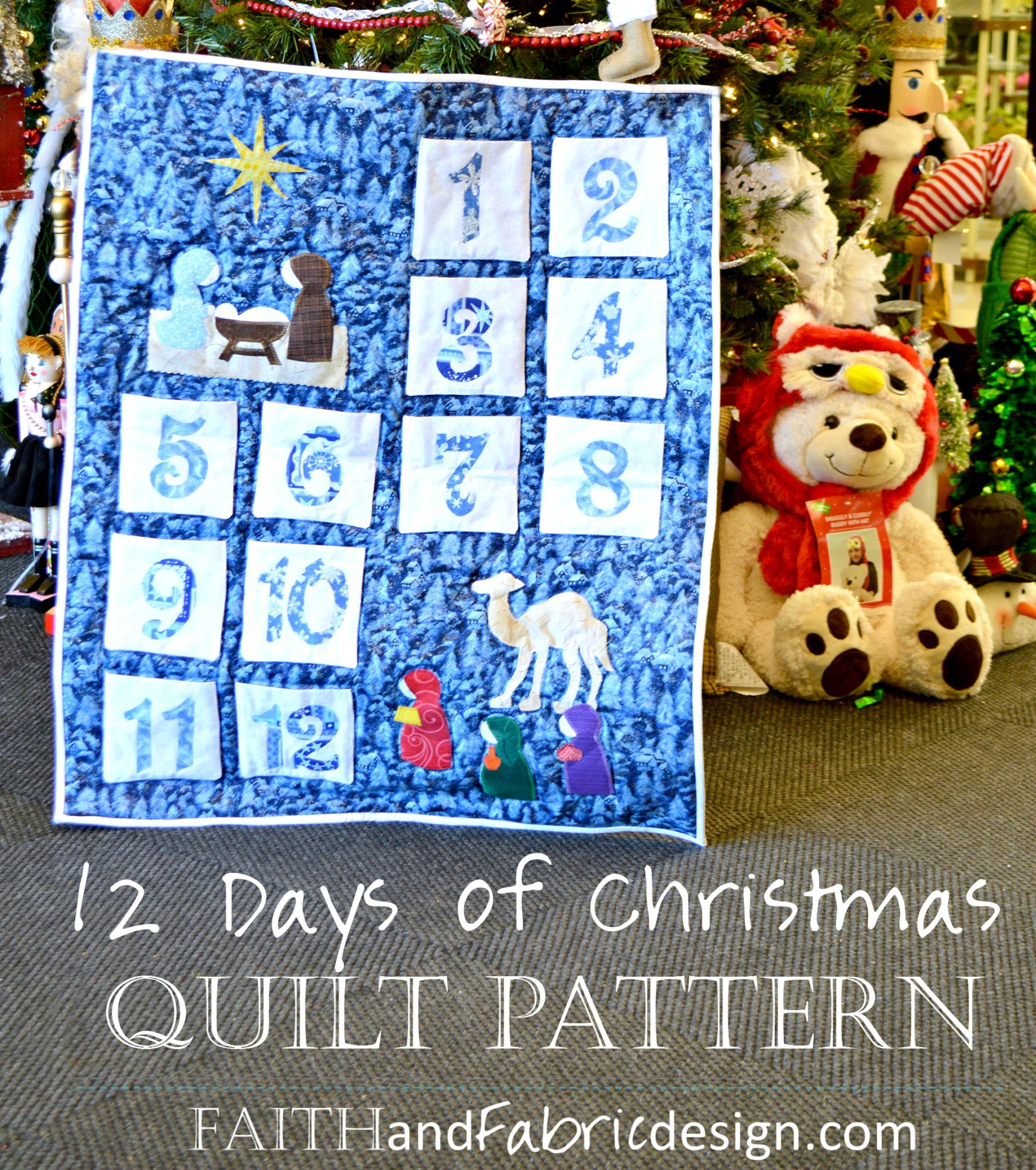12 Days Of Christmas Quilt Pattern Christmas Decore