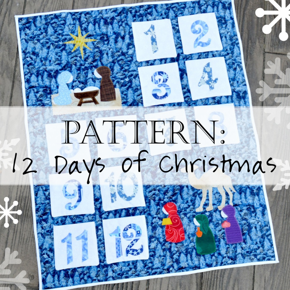 Pattern: 12 Days of Christmas Quilt