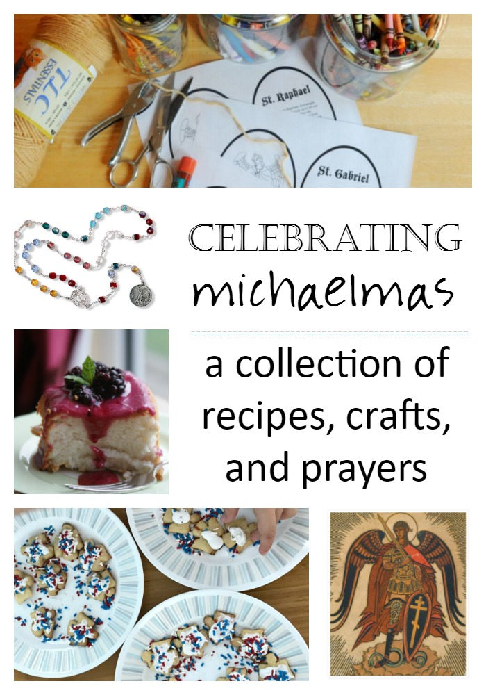 Ideas for Celebrating Michaelmas