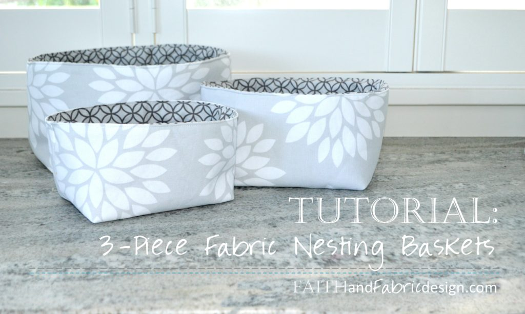 Nesting Baskets Pattern Tutorial 7