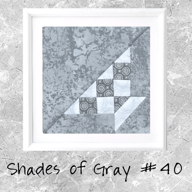 Shades of Gray: Farmer's Wife Block 40 Grandmother