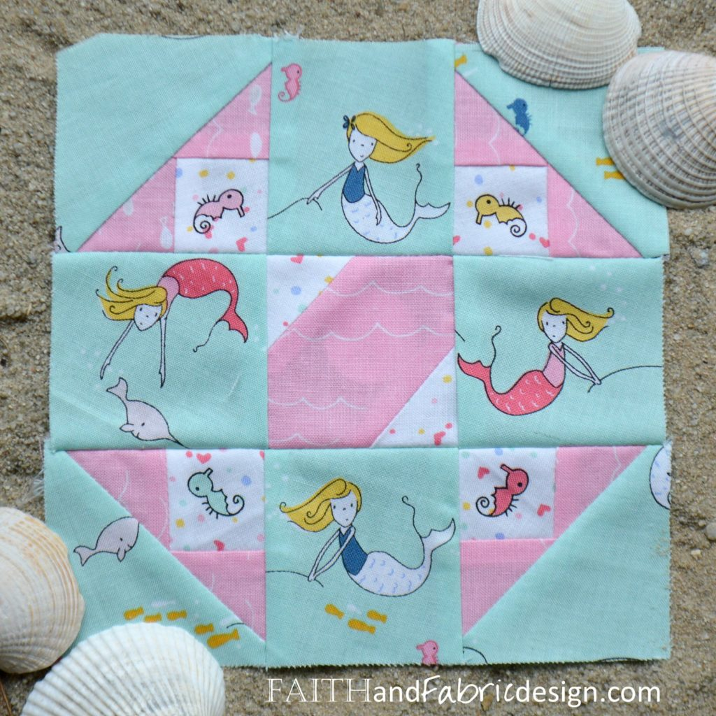 Under the Sea Block 10 Ava by Faith and Fabric