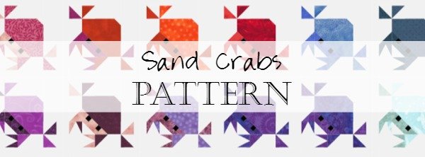 Quits Sewing Sand Crabs Catholic Pattern