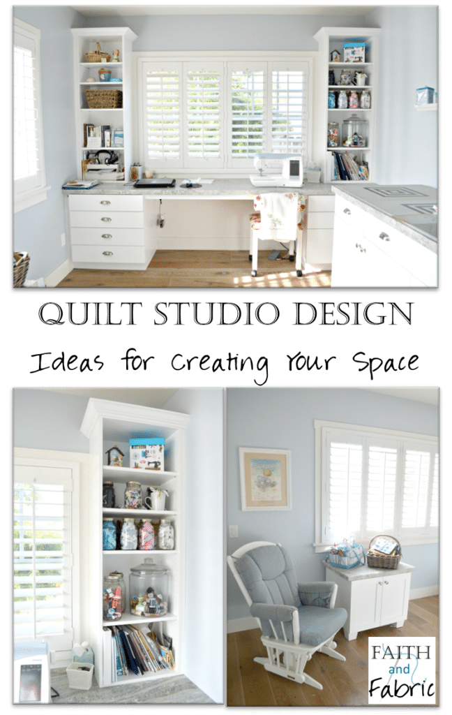 Quilting Room Design Ideas Part - 42: Quilt Studio Design - Ideas For Creating Your Sewing Space By Faith And  Fabric