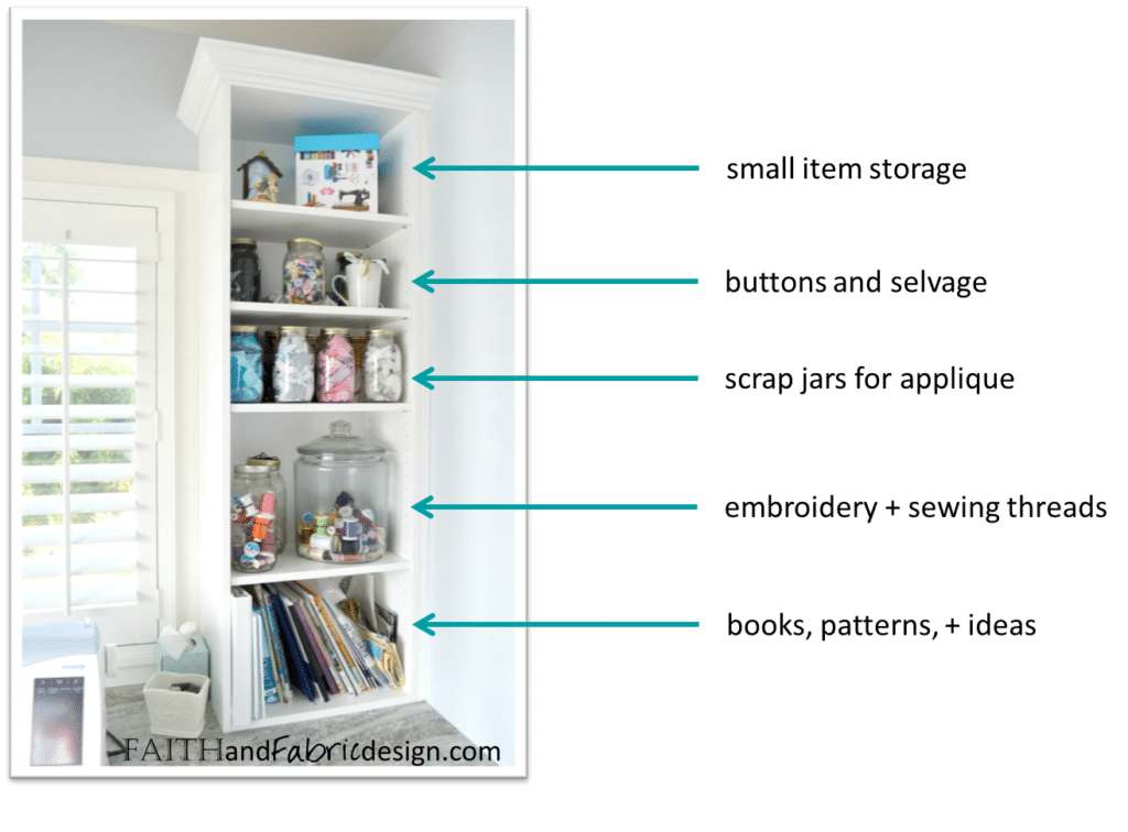 Quilt Studio Design Storage