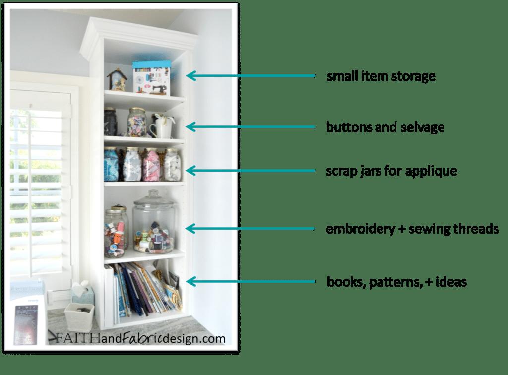 Quilt Studio Design Storage