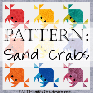 Pattern: Sand Crabs (Feeling Crabby) Quilt Pattern
