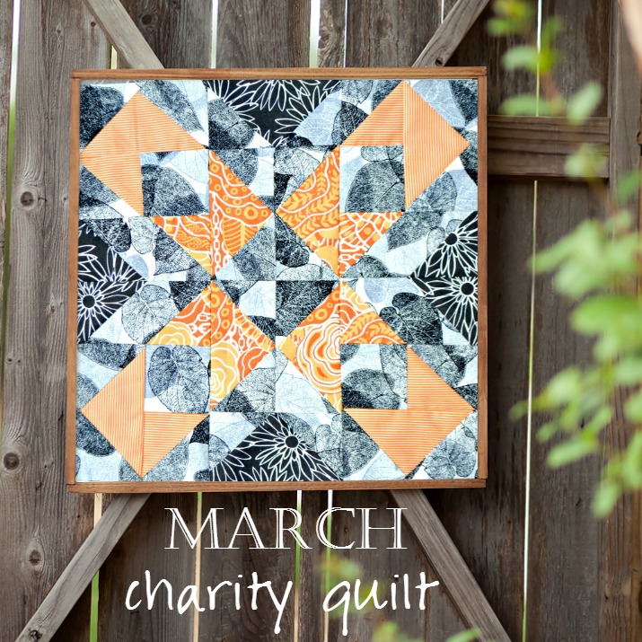 Charity Quilt: The Emperor's Garden Block 3