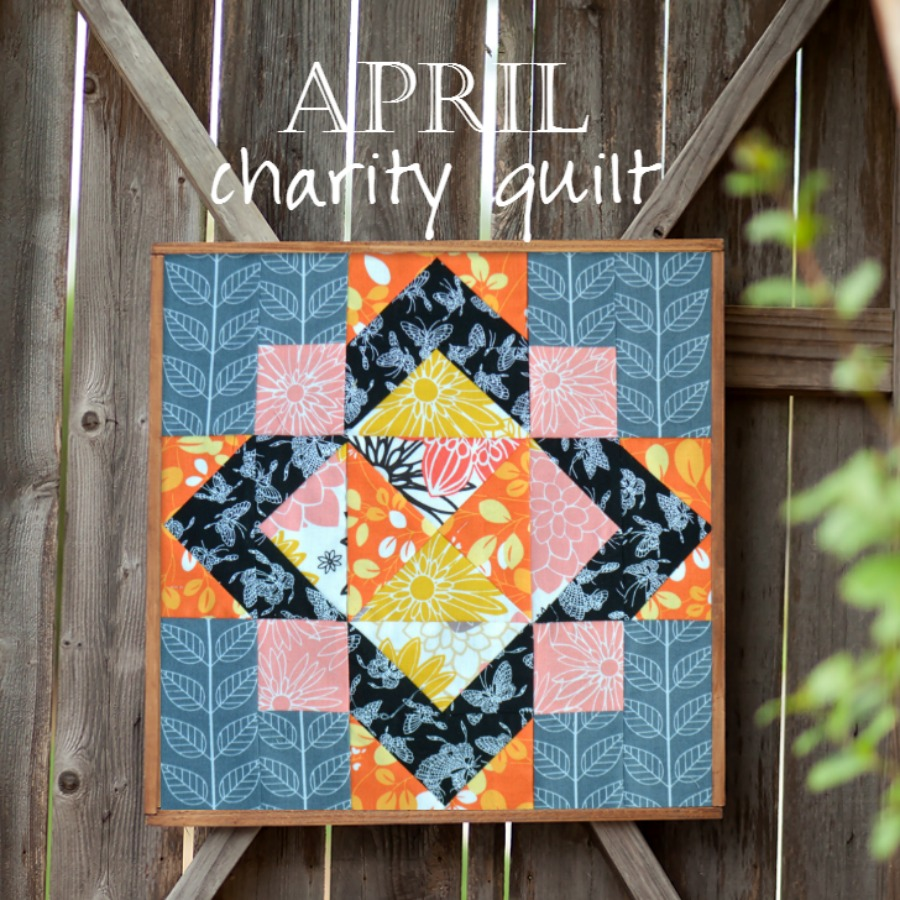 Charity Quilt: The Emperor's Garden Block 4