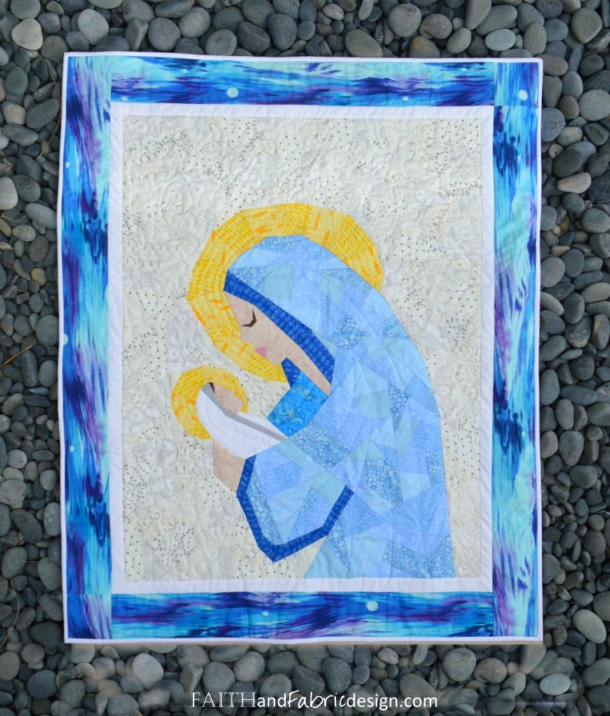 Mary Jesus Quilt Pattern Faith And Fabric