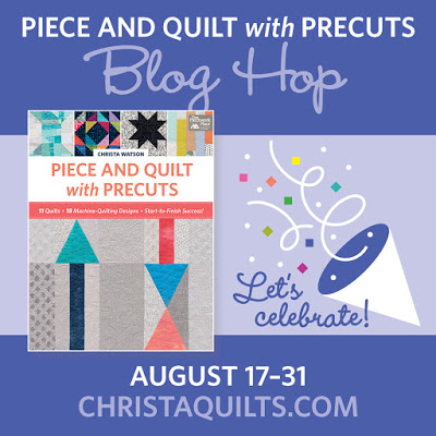 Blog Hop: Piece and Quilt With PreCuts