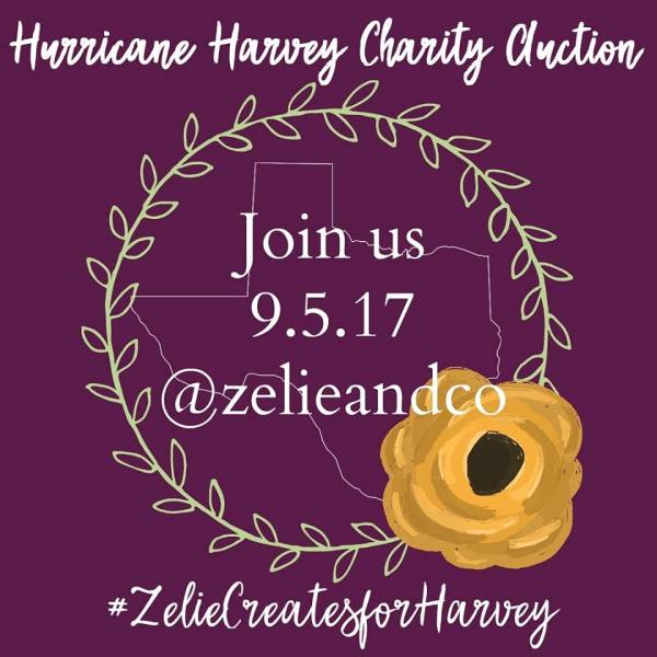 2 Days. 1 Cause. Join us for a Hurricane Harvey Relief Charity Auction
