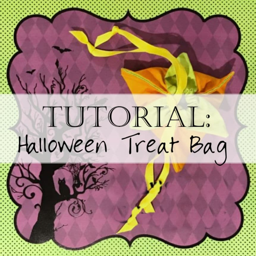 Tutorial: Halloween Treat Bags