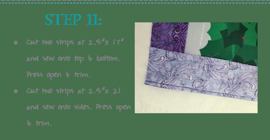 Advent Fabric Wreath Panel Tutorial Class