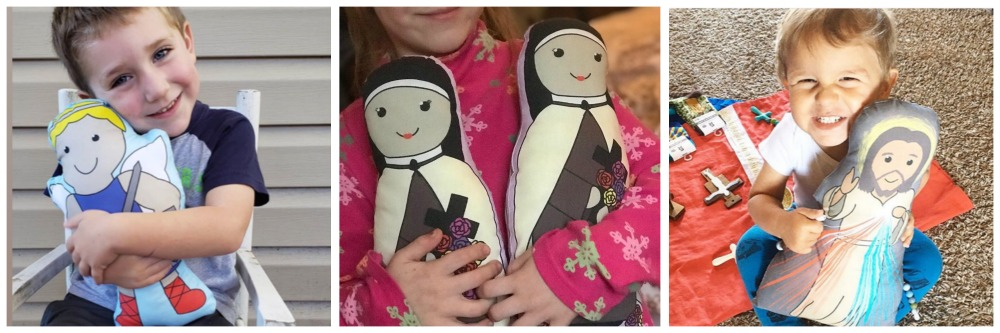Sew a saint with these soft fabric dolls!