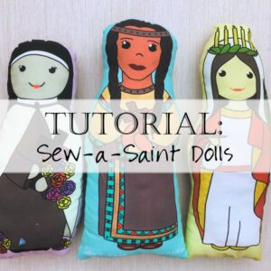 Sew-a-Saint Fabric Catholic Doll