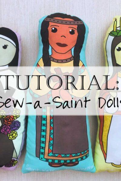 Sew-a-Saint Fabric Catholic Doll