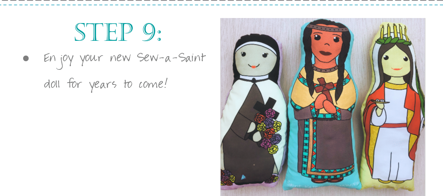 Sewing Class Catholic Sew A Saint Doll 2
