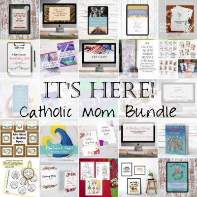Living Liturgically this Advent: Catholic Mom Bundle 2019