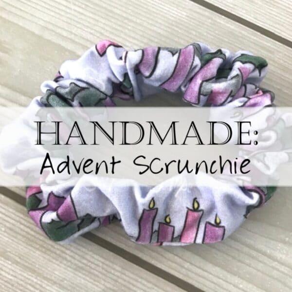 Catholic Headband Scrunchie Advent 0