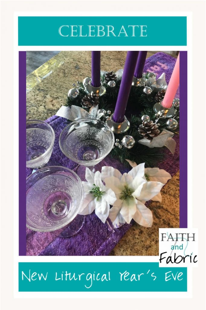 Celebrate the New Liturgical Year's Eve with these party ideas!