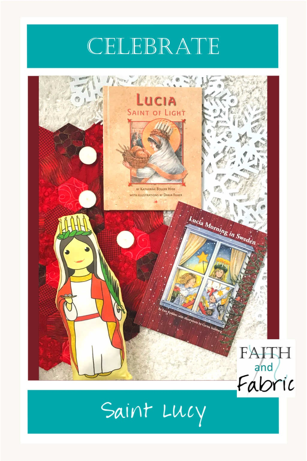 Celebrate Saint Lucy's feast day with these