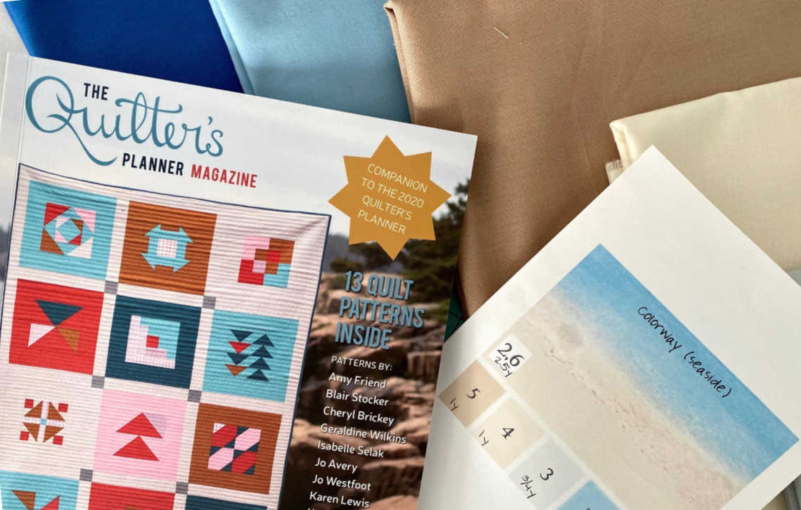 The Quilter's Planner Sew-Along Fabric Selection
