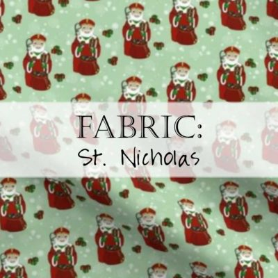 Fabric: St. Nick / Saint Nicholas
