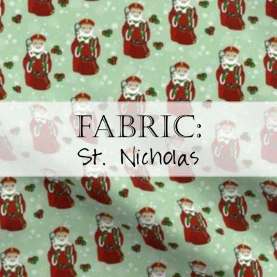 Saint Nicholas Fabric / St. Nick Yardage